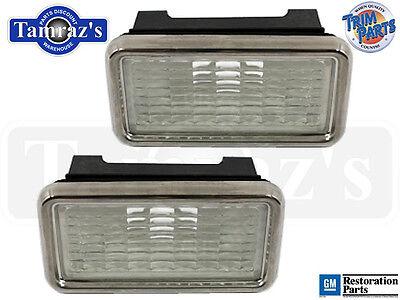 68 Corvette Fender Side Marker Light / Lamp Assembly Pair