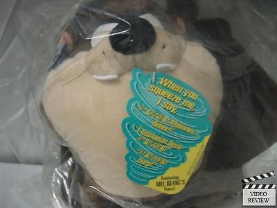 Tasmanian Devil (taz) Talking Plush Applause Mel Blanc Factory Sealed