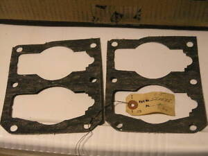 2-OMC-JOHNSON-EVINRUDE-BASE-GASKETS-550975-1950-039-s