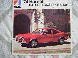 1974 AMC Hornet Sales Brochure