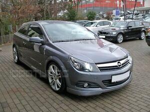 Opel Astra H GTC / Twin Top Frontspoiler Spoilerlippe OPC Lippe Tuning Spoiler