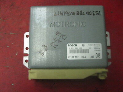 98 97 saab 900 2.3 non-turbo ecm engine computer 0261204402 4780557