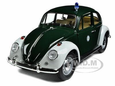 1967 Volkswagen Beetle Kafer Germany Police Car 1/18 Model Greenlight 71101