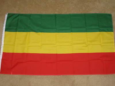 3X5 ETHIOPIA FLAG ETHIOPIAN RASTAFARIAN RASTA NEW F131