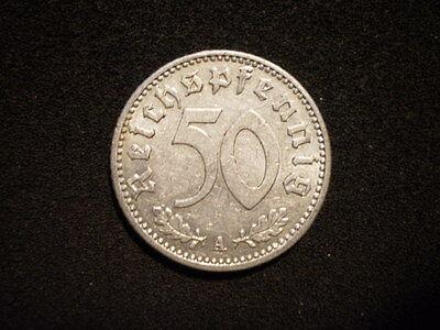 50 Reichspfennig 1935 J, ss