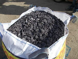 BLUE SLATE 40MM CHIPPINGS BULK BAG AGGREGATE FOR GARDENS
