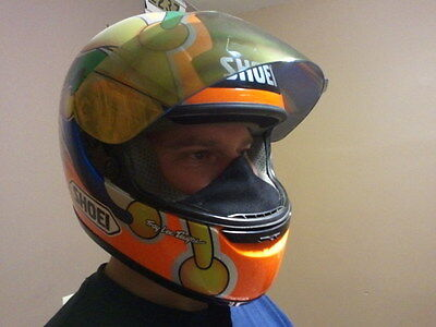 Motorcycle Helmet Breath Deflector Chin Curtain Bieffe