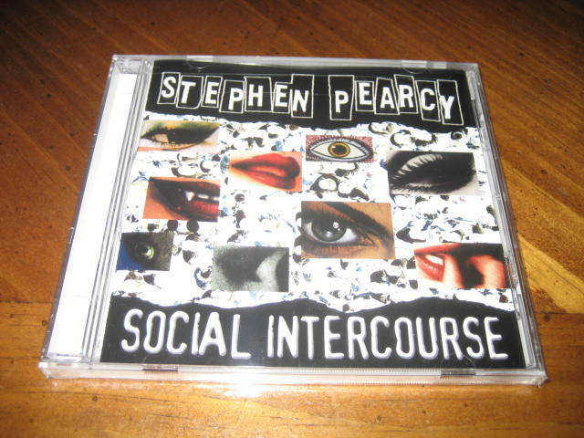 Stephen Pearcy - Social Intercourse Cd - Metal Hard Rock - Ratt Sunset Strip