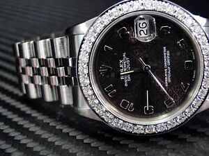 WOMENS-PREOWNED-MIDSIZE-ROLEX-LADIES-18K-DIAMOND-BEZEL-WATCH-STAINLESS-STEEL