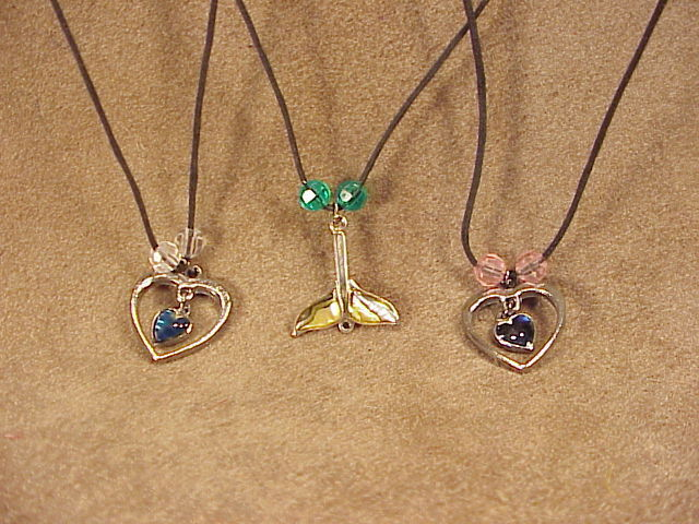 Hand Made 3 Beautiful Handcrafted Necklaces 471waz