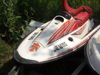 1995 ARCTIC CAT TIGERSHARK DAYTONA(TRADES CONSIDERED)