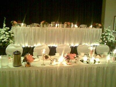 Table Skirt (polyester) - 17' Wedding