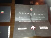 TAG HEUER Chronometer Calibre 16 Senna Edition. Number 486 of 4000