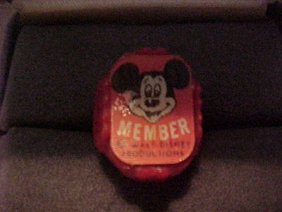1950'S MICKEY MOUSE CLUB ORIGINAL 3D RING MINT