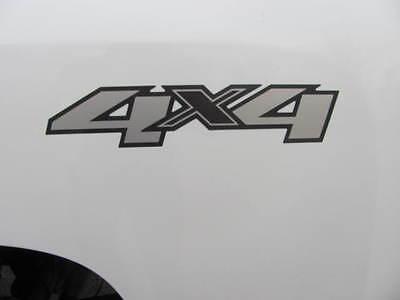 Pair  2  Oem Chevrolet Gmc 4X4 Logo Decals Silverado Sierra 07 13 1500 2500 3500
