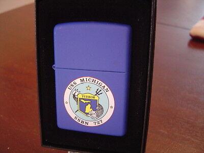 Купить USS MICHIGAN SSBN 727 SUBMARINE ZIPPO LIGHTER MINT IN BOX