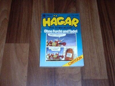 Dik Browne -- HÄGAR 3 der SCHRECKLICHE / OHNE FURCHT und TADEL / 1. Auflage 1984