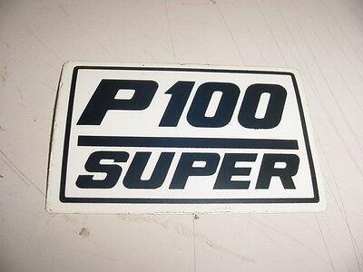 Partner Chainsaw P100 100 Sticker Decal ----------- Box2-1