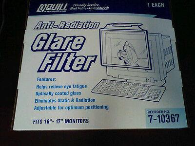 Adjustable Anti-radiation Anti-static Glare Filter For 16 - 17 Crt Monitors