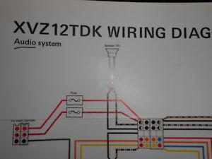 yamaha factory color wiring diagram schematic 1983 xvz12tdk audio system ebay