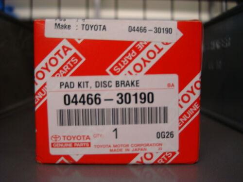 Rear Brake Pads IS200/IS300 & GS #2