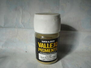 VALLEJO-PIGMENTS-EARTH-amp-OXIDE-30gr-73102-LIGHT-YELLOW-OCRE