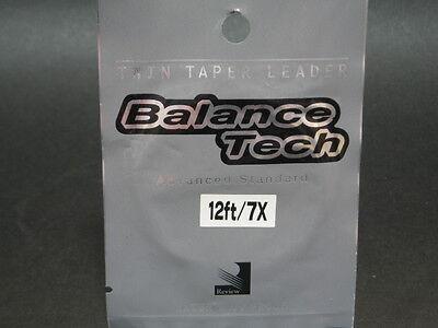 Review. Balance Tech Twin Taper Leader 12ft/7x Nip