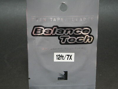 Review. Balance Tech Twin Taper Leader 12ft/7x Nip