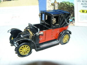 rami jmk taxi de la marne renault de 1907 au 1 43 me variante marche pied ebay. Black Bedroom Furniture Sets. Home Design Ideas