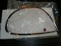 JAGUAR S-TYPE REAR CHROME TAIL LIGHT TRIM NEW
