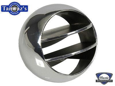 GM67-8 F 65-8 B 66-9 A Body Air Vent Outlet Ball Chrome