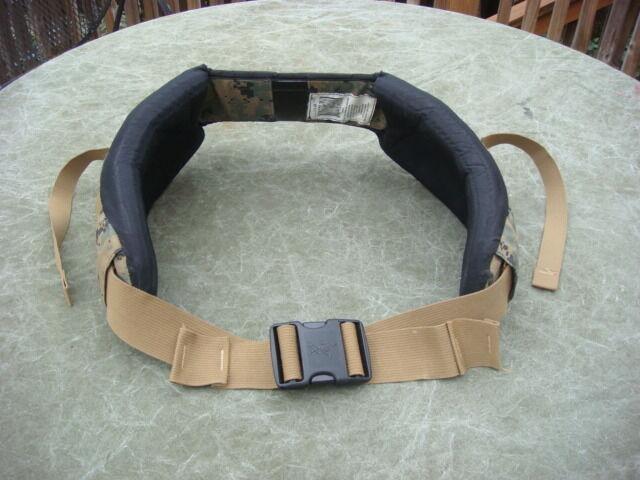 USMC MARPAT ILBE Arcteryx GEN I Hip Waist Belt Mens Medium (Very Good Condition)