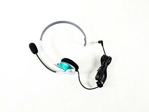 Telephone-Headset-w-Boom-Mic-2-5mm-Standard-Business-Cell-Cordless-LOT-OF-5