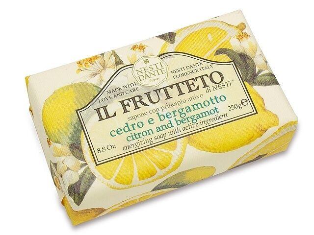 Nesti Dante Bar Soap Il Frutteto Luxury Citron & Bergamot Bath and Body Natural