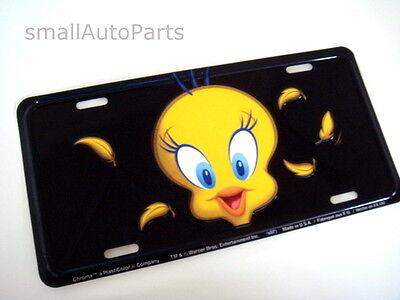 Tweety Bird License Plate Aluminum Metal Stamped/embossed Tag