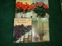 12 VOLUMES (NEUF) PLANTES, FLEURS, JARDINS & DECORATION.