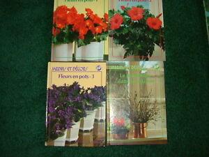 PLANTES, FLEURS, JARDINS & DECORATION, LIVRES NEUFS