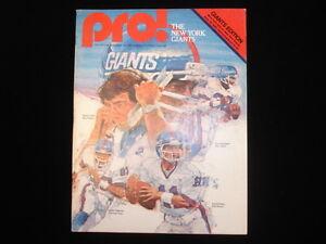 August-30-1980-Pro-Magazine-NY-Jets-vs-NY-Giants-EX