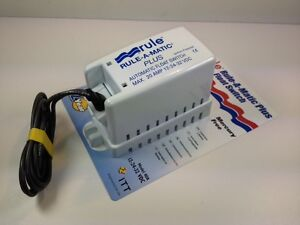 Rule A Matic Plus Automatic Boat Float switch - Bilge Pump - New WS10