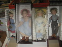 LITTLE HOUSE ON THE PRAIRIE - Collectible DOLLS - ORIGINAL BOXES