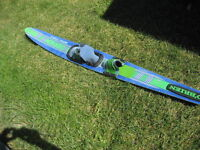 Obrien water ski. Graphite board. Bindings.  67 inch/ 170 cm.