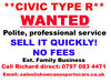 *HONDA CIVIC TYPE R* ALWAYS WANTED BY Est. FAMILY BUSINESS Leeds