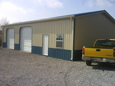 Pole Barn 40x60x12 W Overhangs Full Material List How To