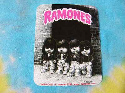 Ramones Garbage Pail Kids 2.75 x 3.5 Inches Sticker