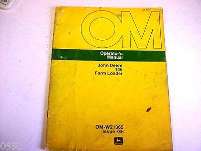 John Deere 146 Farm Loader Manual