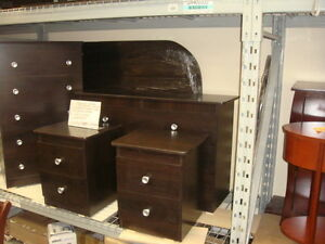 Brand New Assembled  6 piece Bedroom Suite