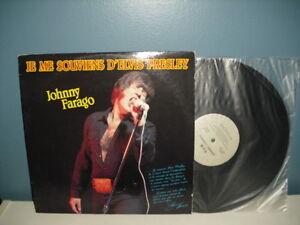 Johnny Farago >>> Je me souviens d'Elvis Presley Rare 33 tours