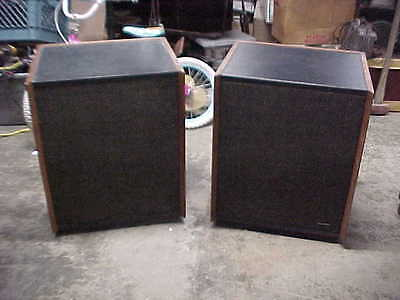 VINTAGE PAIR OF ALTEC LANSING 879A SANTANA SPEAKERS NICE AND SOUND AWESOME on Rummage