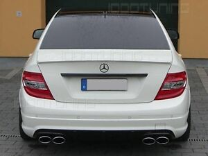 Mercedes Benz C Class W204 Boot Spoiler AMG 63 Look