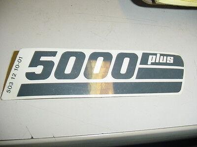 Partner 5000 Chainsaw Decal Sticker----- Box505